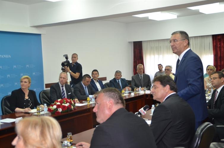 Predsjednici Republike prezentirani projekti Splitsko-dalmatinske županije