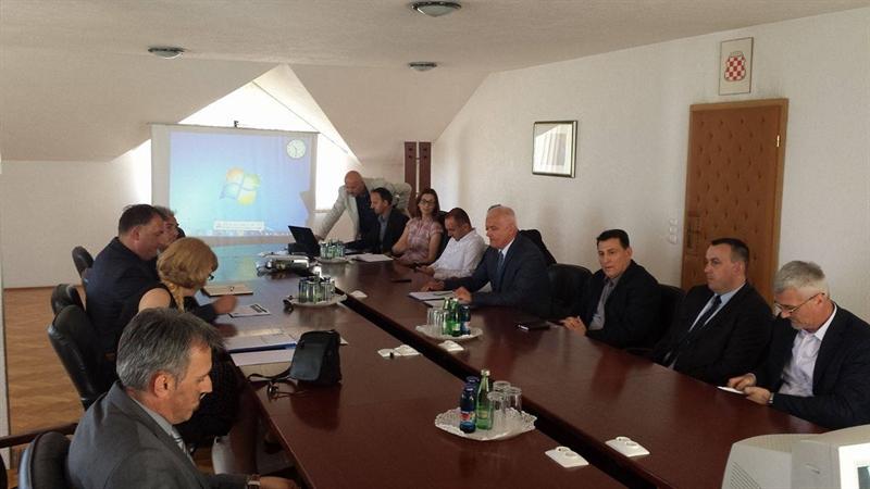 Izaslanstvo Splitsko-dalmatinske županije u posjeti Hercegbosanskoj županiji